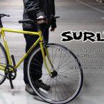 SURLY (サーリー) Steamroller (スチームローラー) ビビッドなイエローが街に映える、シンプルなピストバイク