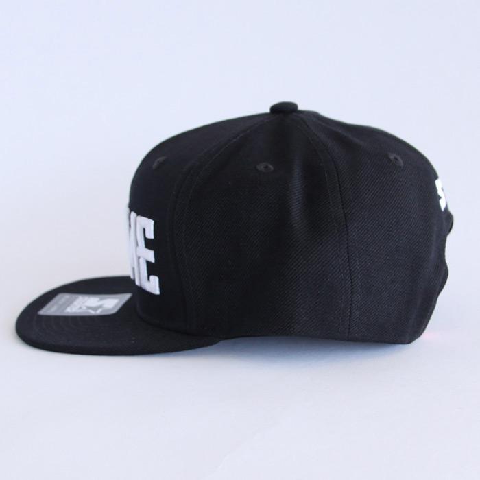 CHROME (クローム) STARTER SNAPBACK CAP (スタータースナップバックキャップ) TYPE1 BLACK / BLACK