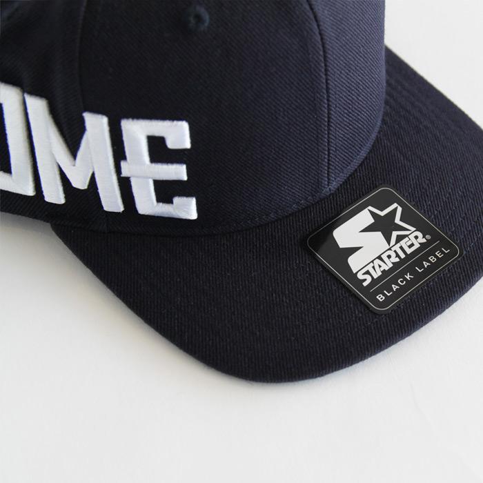 CHROME (クローム) STARTER SNAPBACK CAP (スタータースナップバックキャップ) TYPE2 NAVY