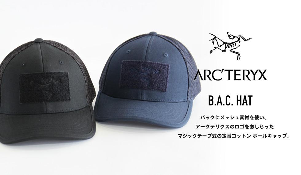 ARC'TERYX(アークテリクス) B.A.C. HAT(B.A.C. ハット)