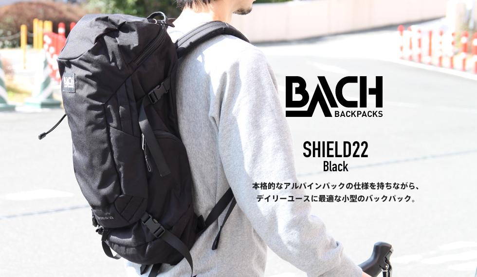 SHIELD22(シールド22) black - BACH(バッハ)