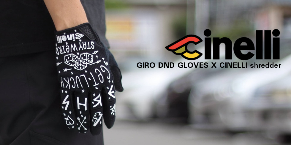 cinelli(チネリ) GIRO DND GLOVES X CINELLI(ジロDNAグローブ×チネリ) shredder