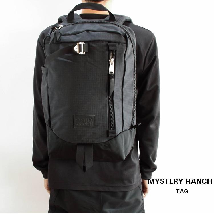MYSTERY RANCH(ミステリーランチ)Tag (タグ) Black