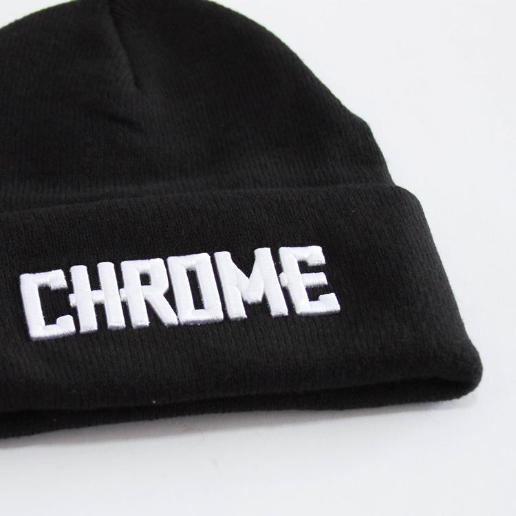 CHROME(クローム) LOGO KNIT CAP (ロゴ ニット キャップ)