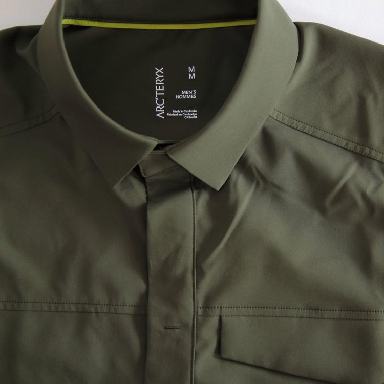 ARC'TERYX(アークテリクス)Skyline SS Shirt Mens(スカイラインシャツ ショートスリーブ シャツ)