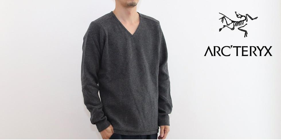 ARC'TERYX(アークテリクス)Donavan V-Neck Sweater(ドノバン Vネック セーター)