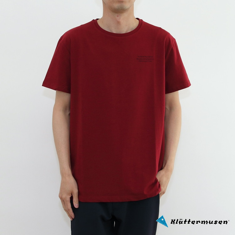 KLATTERMUSEN(クレッタルムーセン)Runa Statement SS Tee Mens