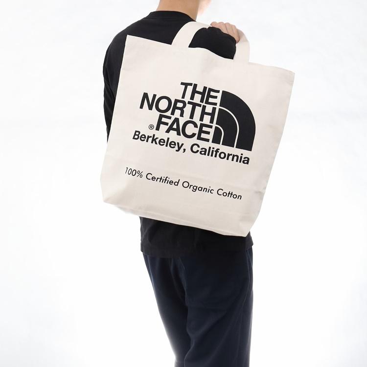 THE NORTH FACE(ザノースフェイ)TNF Organic Cotton Tote(TNFオーガニックコットントート)